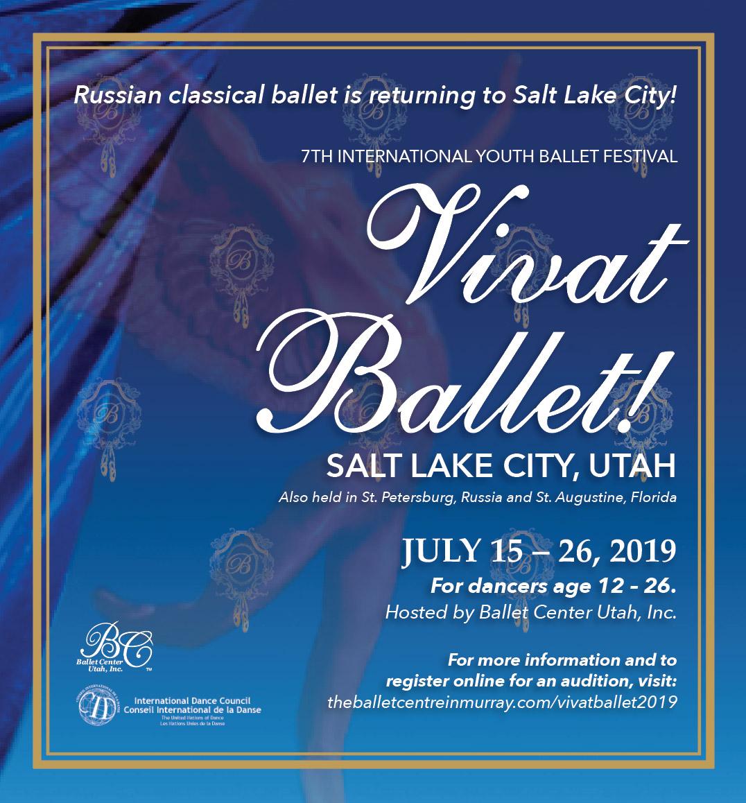 Vivat Ballet! – Ballet Center Utah, Inc